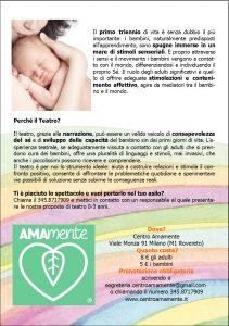 SPETTACOLO TEATRALE BAMBINI 0 3 ANNI A MILANO