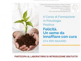 Laboratorio di Psicologia Positiva a Milano