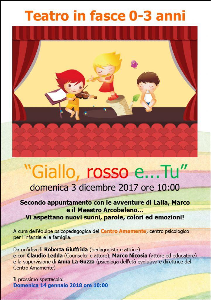 Spettacolo Teatrale per bambini 0 3 anni a Milano