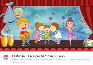 Teatro per bambini 0-3 anni