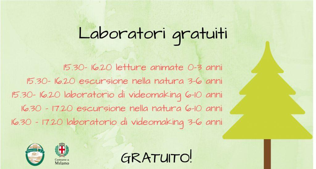 Laboratori per bambino gratis a Milano