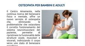 Osteopatia per bambini e adulti a Milano