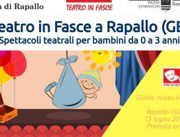 Teatro in fasce a Rapallo