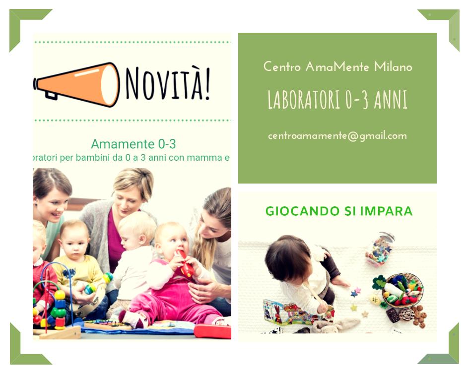 Laboratori 0-3 anni Milano