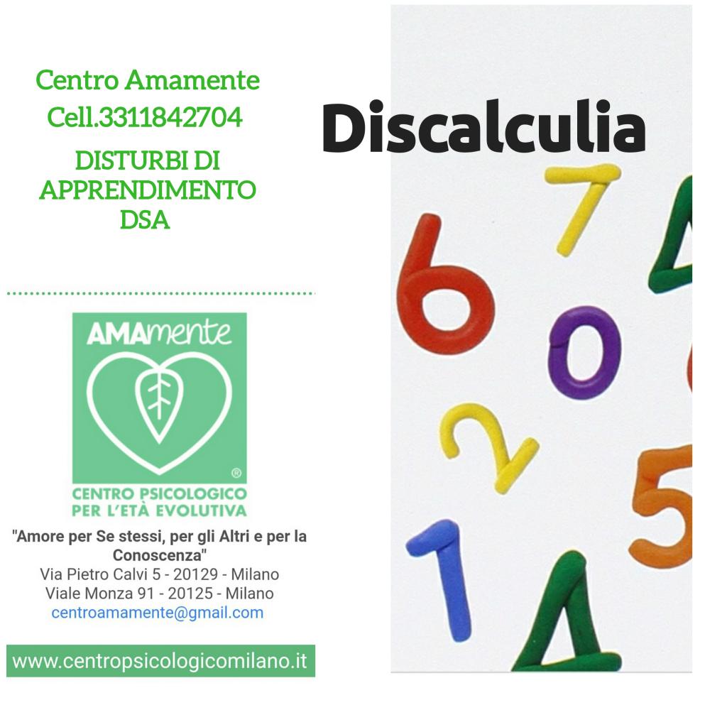 Centro dsa discalculia