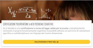 corso plusdotazione Online