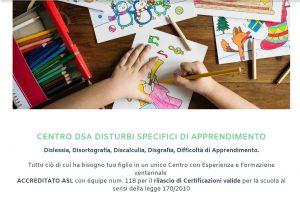 Test e diagnosi DSA Milano